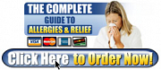 The Complete User Guide To Allergies & Relief