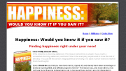 Happiness: Would you know it if you saw it?