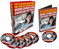 """The 52 lesson audio course on 5 CDs on playing songs using chords and chording patterns -- for adult beginners who want to take their time & do it right"""