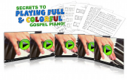 Secrets To Playing Full & Colorful Gospel Piano!