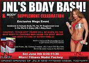 HI OVI! THIS IS FOR A 2 SIDED PRINTABLE 5 X 7 FLYER! SIDE ONE:  BODY FX SUPPLEMENT CELEBRATION & JNL